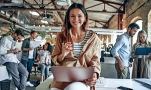 Young-business-people-in-office